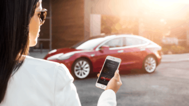 Model 3 – My Tesla Phone App as Key (1)