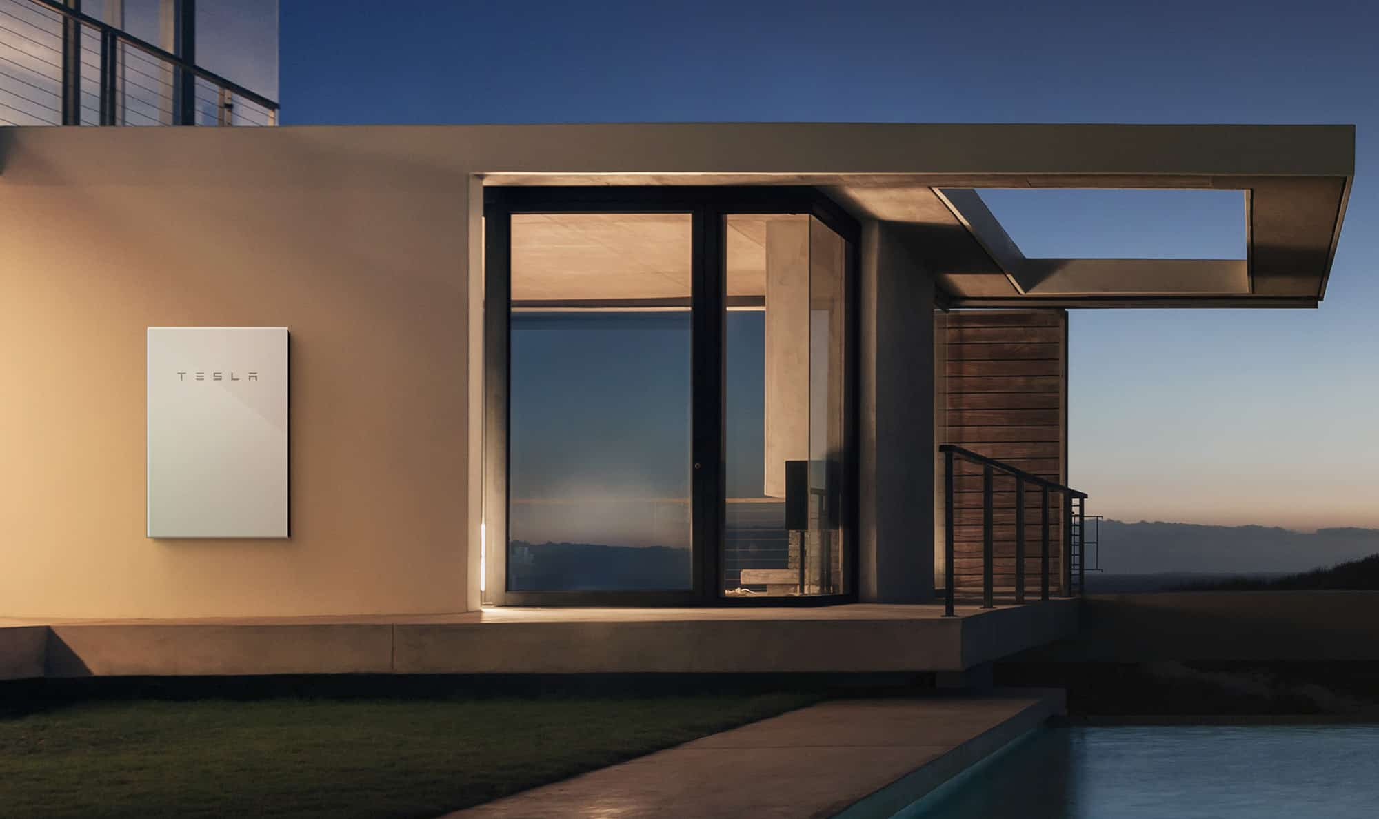 Tesla Powerwall 2 house