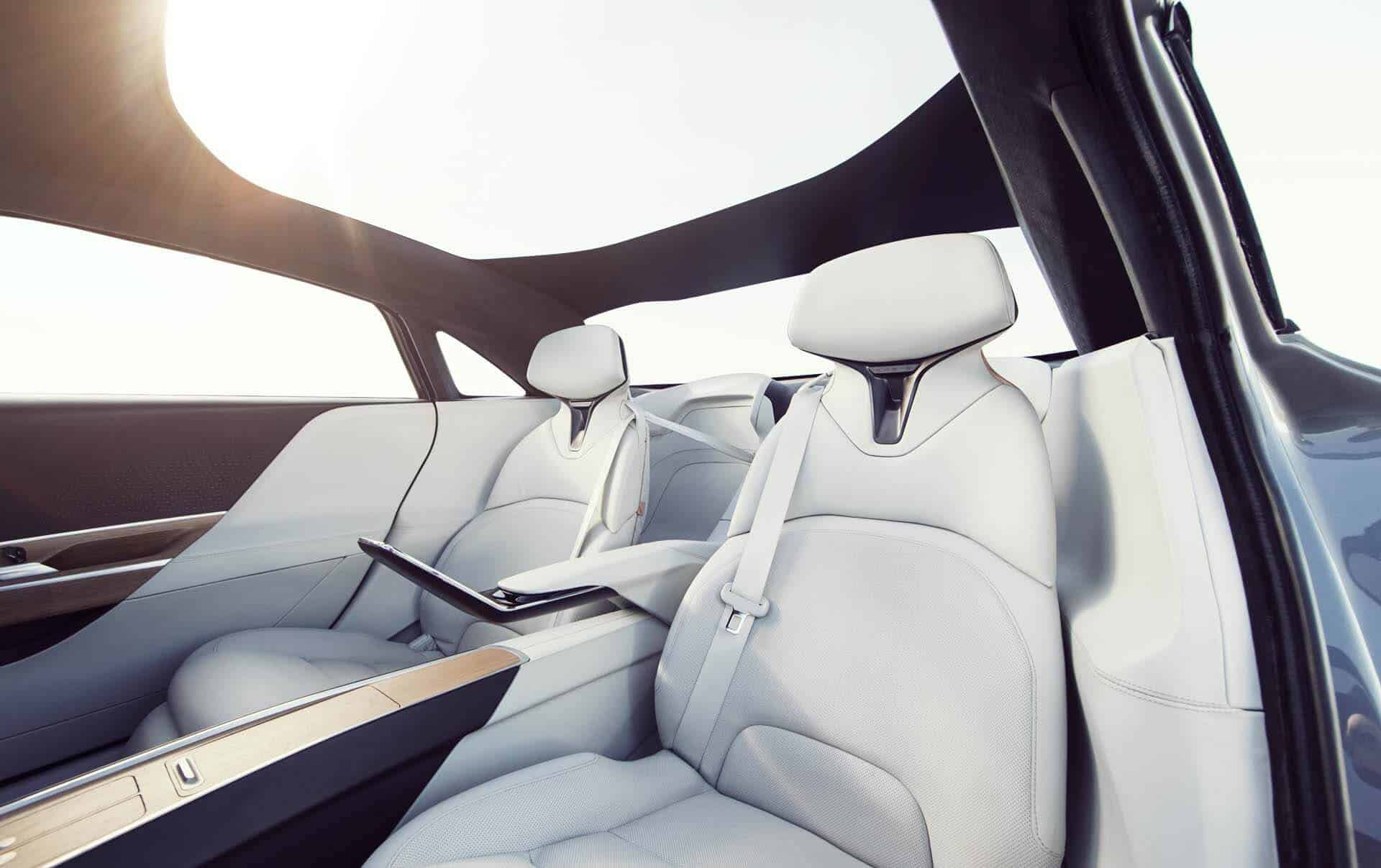 interior Lucid motors