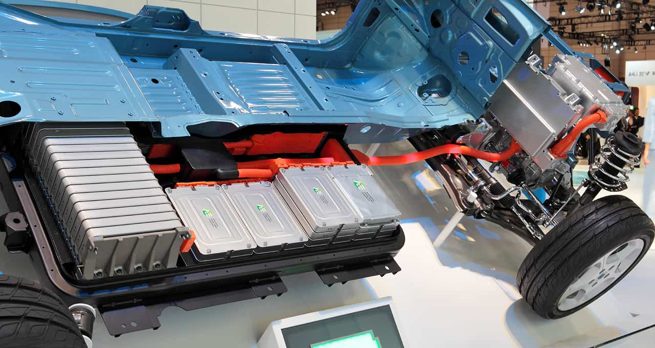 Nissan leaf battery