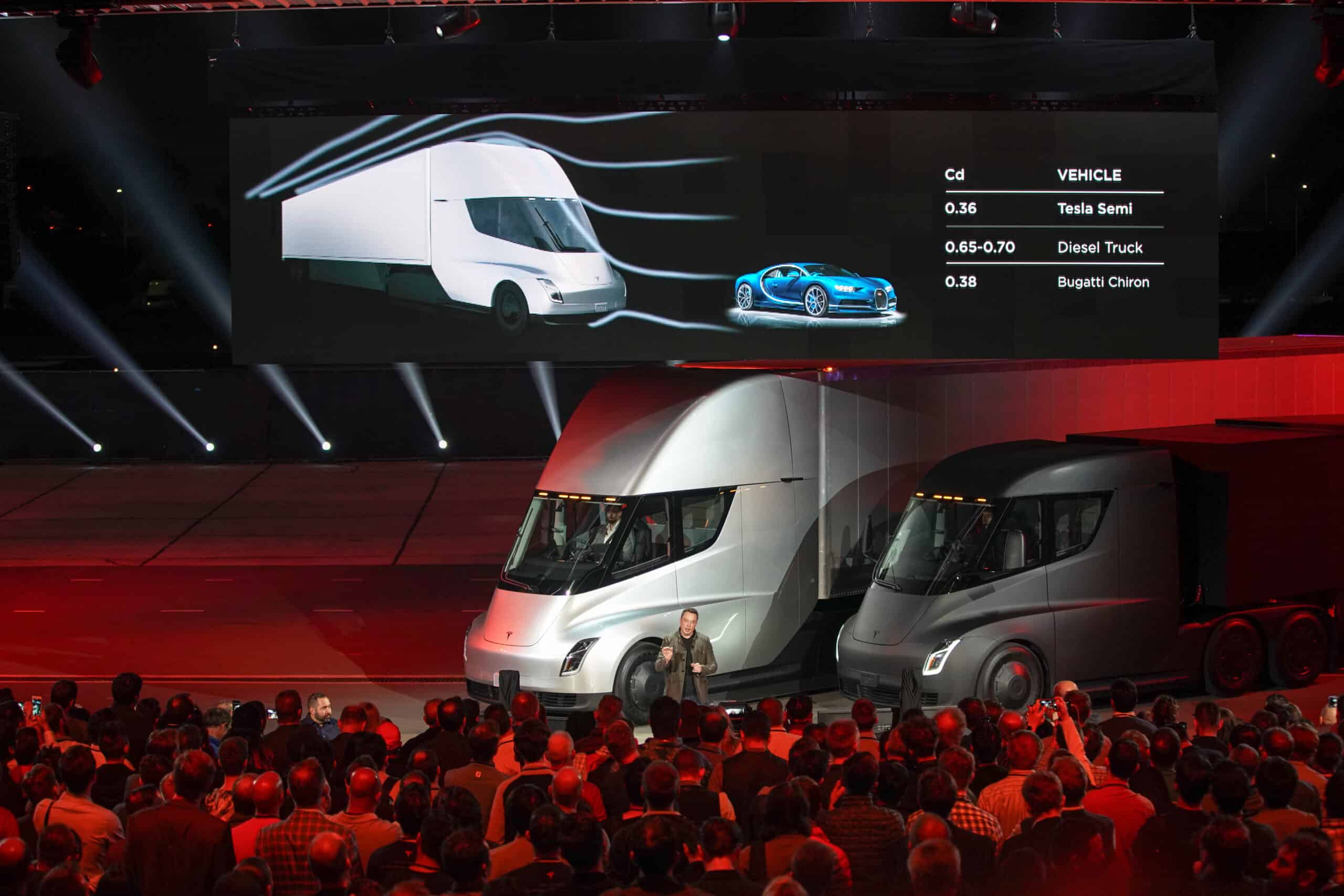 TESLA semi unveil