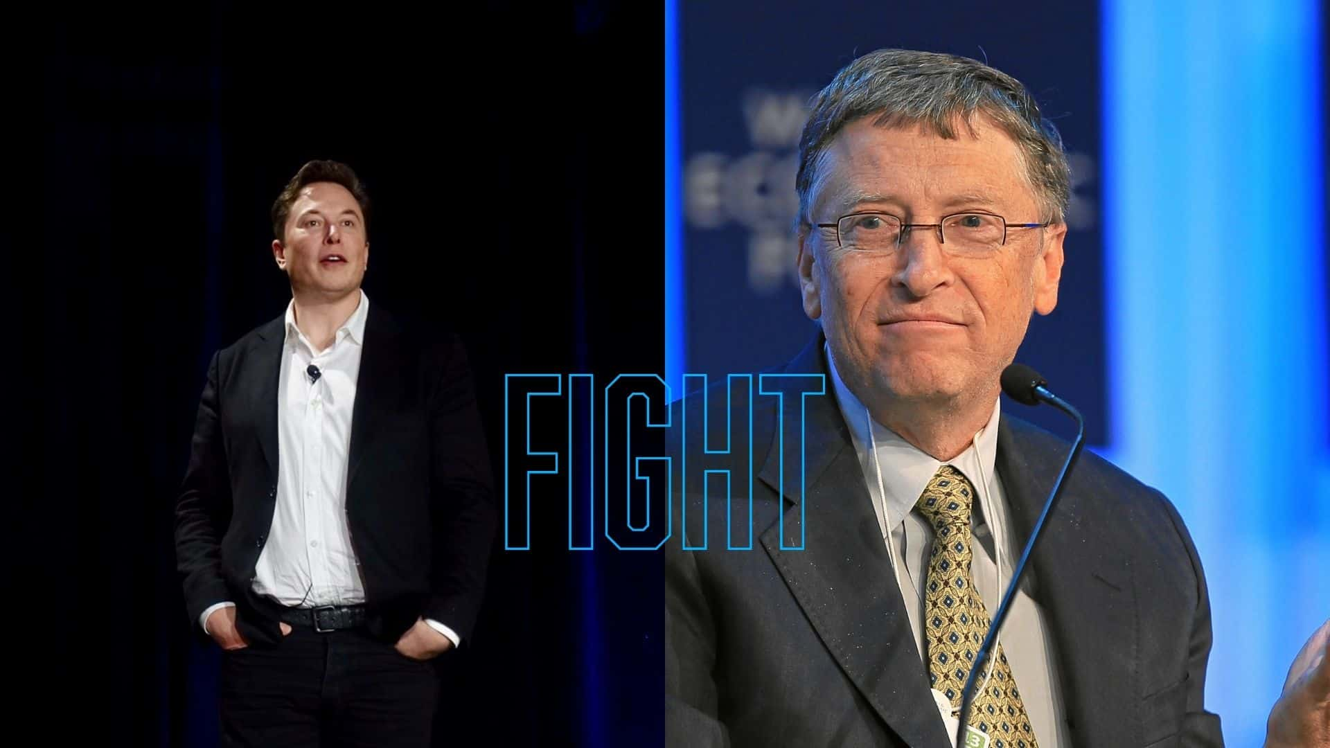Elon Musk vs Bill gates