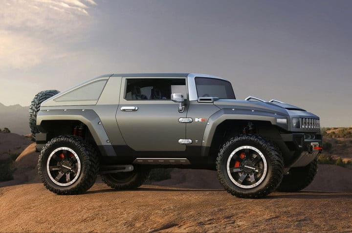 hummer electrica concept